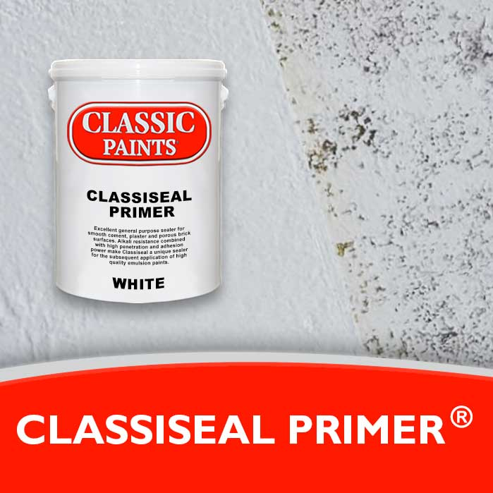 Alkali Resistant - Sealer for the subsequent application of high quality emulsion paints.