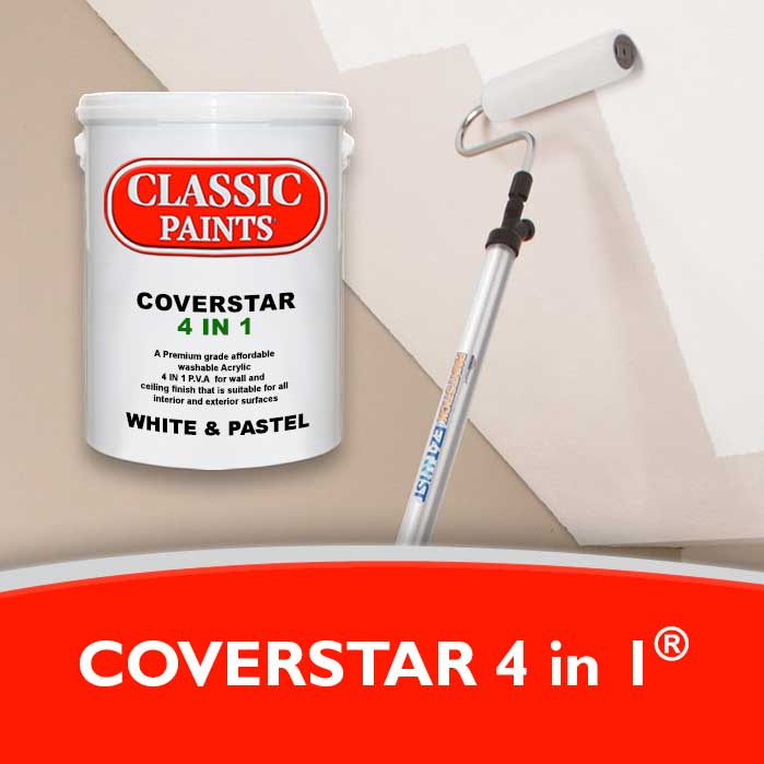 A medium grade PVA for ceilings, new plaster and various compostion boards.